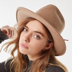 High Crown Felt Fedora